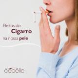 Cigarro e pele